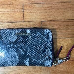 Stella & Dot Snakeskin Wallet Purse